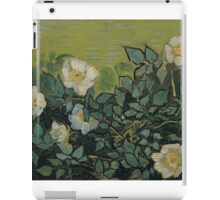 Vincent Van Gogh - Wild roses, Famous Painting. Impressionism. Van Gogh iPad Case/Skin
