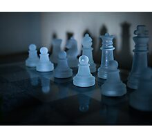 Chess Redux Photographic Print
