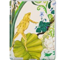 Frog and Lilly iPad Case/Skin