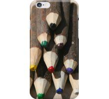 Pencil Crayons iPhone Case/Skin