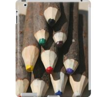 Pencil Crayons iPad Case/Skin