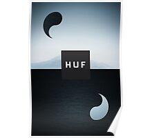 HUF WorldWide YinYang Poster