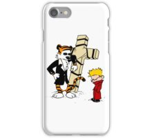 Calvin & Hobbes - StackedImages iPhone Case/Skin