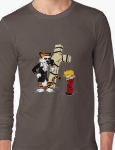 Calvin & Hobbes - StackedImages Long Sleeve T-Shirt