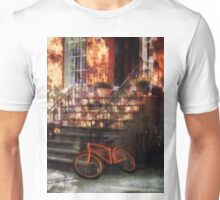 Orange Bicycle by Brownstone Unisex T-Shirt
