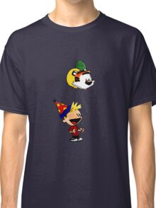 Calvin and Hobbes Party Classic T-Shirt