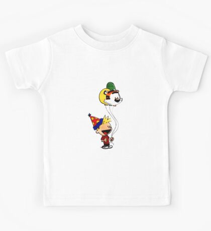 Calvin and Hobbes Party Kids Tee