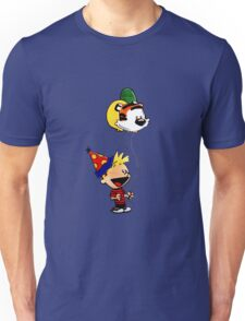 Calvin and Hobbes Party Unisex T-Shirt