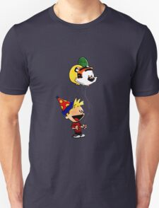 Calvin and Hobbes Party T-Shirt