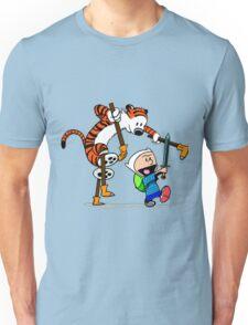 "Calvin and Hobbes ""Jake and Finn"" Unisex T-Shirt"