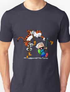 "Calvin and Hobbes ""Jake and Finn"" T-Shirt"