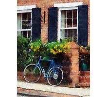 Parked Bicycle Photographic Print
