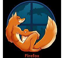 Firefox Parody Photographic Print