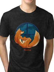 Firefox Parody Tri-blend T-Shirt