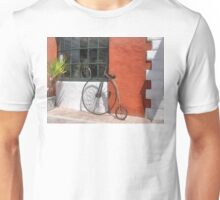 Penny-Farthing in Front of Bike Shop T-Shirt