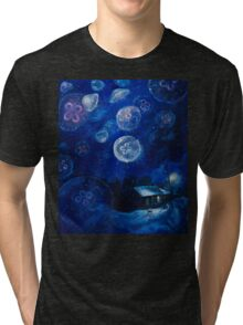 It's Jellyfishing Outside Tonight Tri-blend T-Shirt