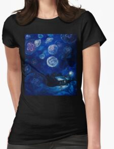It's Jellyfishing Outside Tonight Womens Fitted T-Shirt