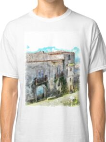 Vatolla: foreshortening with building Classic T-Shirt