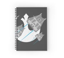 Speed Snow Spiral Notebook