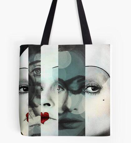 face mash up #1 Tote Bag