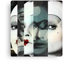 face mash up #1 Canvas Print