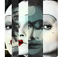 face mash up #1 Photographic Print