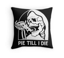 Spooky Pizza Throw Pillow