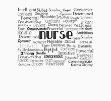 Nurse Best Adjectives Unisex T-Shirt