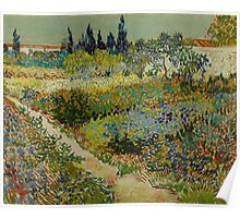 Vincent Van Gogh - Garden at Arles, July 1888 Poster