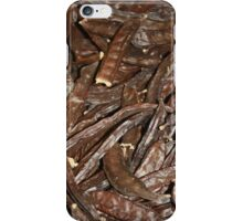 Harvested Carob Pods - Haripur iPhone Case/Skin