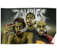 flatbush zombies 9 Poster