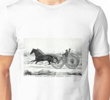 Black Hawk and Jenny Lind - Union course - 1850 - Currier & Ives Unisex T-Shirt