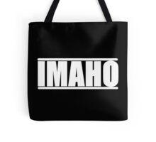 The Hollywood Outsider IMAHO Logo Tote Bag