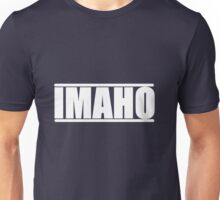 The Hollywood Outsider IMAHO Logo Unisex T-Shirt