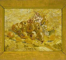 Vincent Van Gogh - Quinces, lemons, pears and grapes, September 1887 - October 1887 by famousartworks