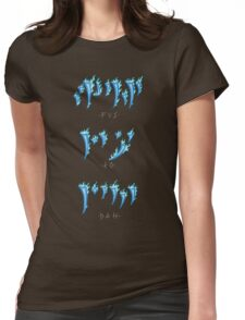 FUS RO DAH! Womens Fitted T-Shirt