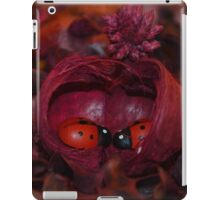 Ladybugs In Love: Home iPad Case/Skin