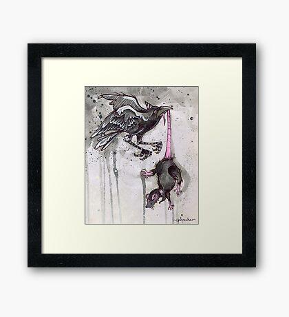 ink & paper 4 Framed Print