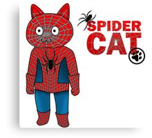 SpiderCat Canvas Print
