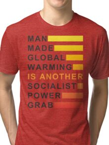 Socialist Power Grab Tri-blend T-Shirt