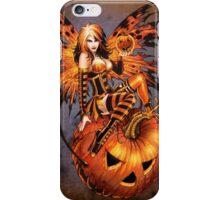 Fairy of Halloween Pumpkin iPhone Case/Skin