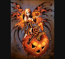 Fairy of Halloween Pumpkin Unisex T-Shirt