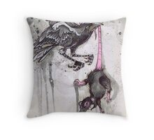 ink & paper 4 Throw Pillow
