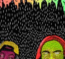 Flatbush zombies art Sticker