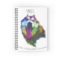 Braxton, Smile like a retarded unicorn Spiral Notebook