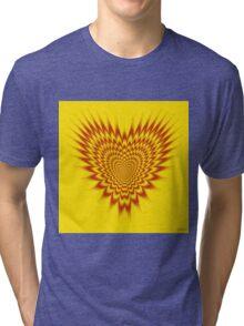 Heart in Flames Tri-blend T-Shirt