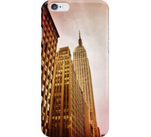 NYC including Empire State Building  iPhone Case/Skin