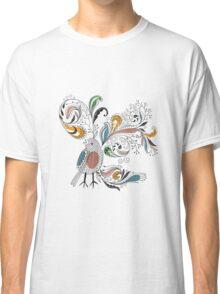 Flowers & Bird 2  Classic T-Shirt