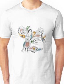 Flowers & Bird 2  Unisex T-Shirt