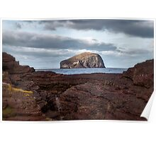 Bass Rock in Scotland Poster